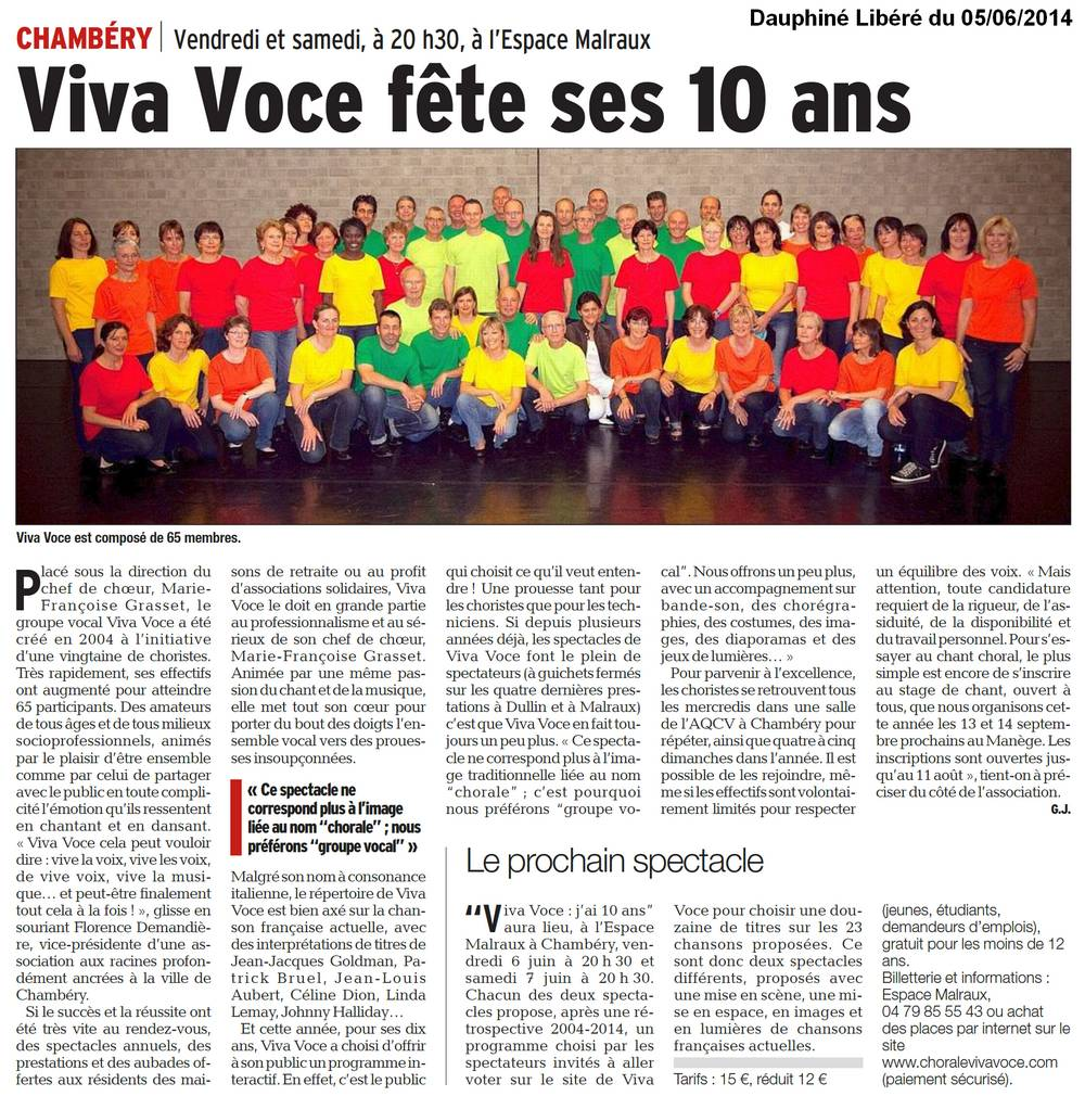 Mot cl spectacles groupe vocal viva voce chamb ry for Cle chambery